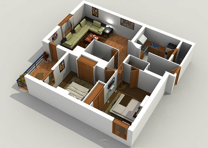 3d architectural rendering outsourcing company for Architecture design house plans 3d